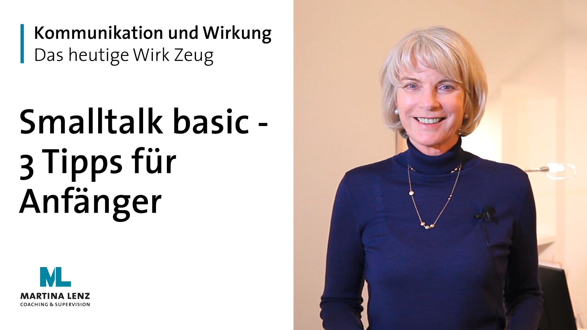 """WIRK ZEUG """"Smalltalk basic – 3 Tipps für Anfänger"""""""