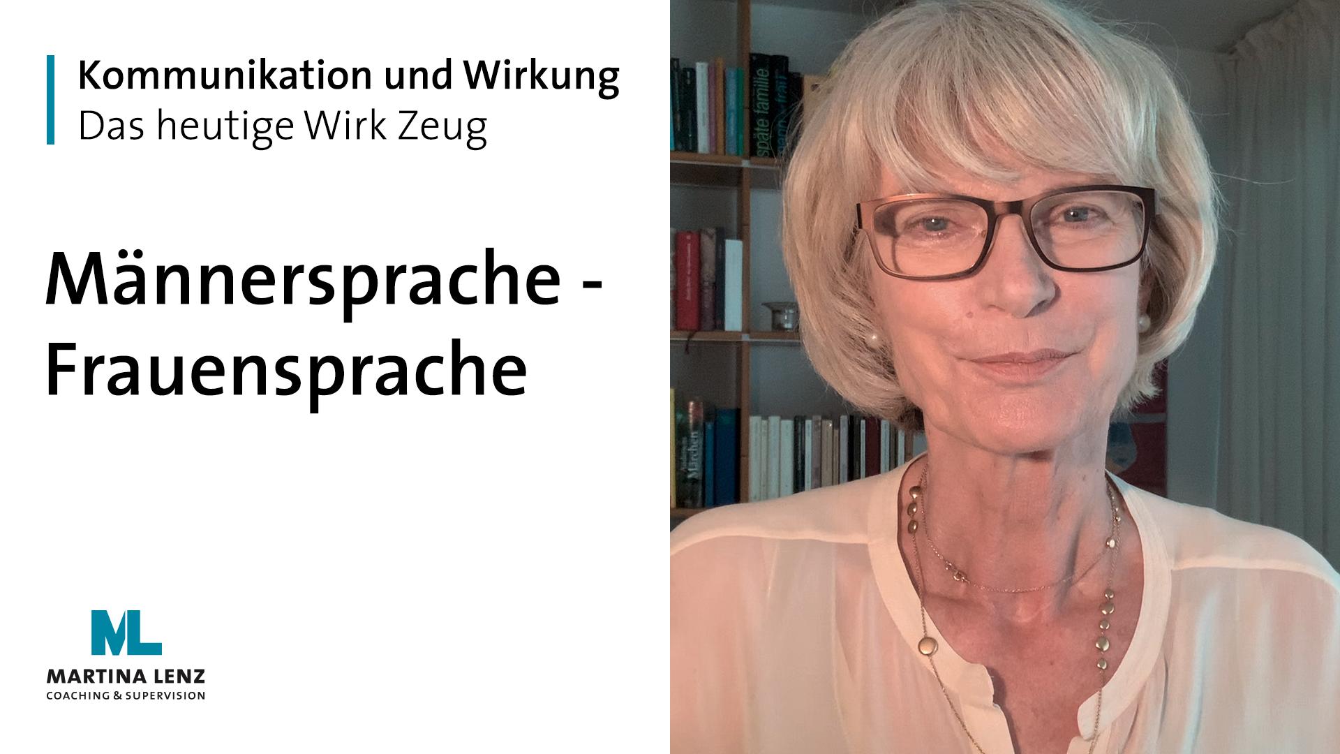 """WIRK ZEUG """"Männersprache und Frauensprache"""""""